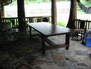 Birchbark Kitchen Dining Table
